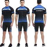 Zoom IMG-1 lixada abbigliamento ciclismo uomo set