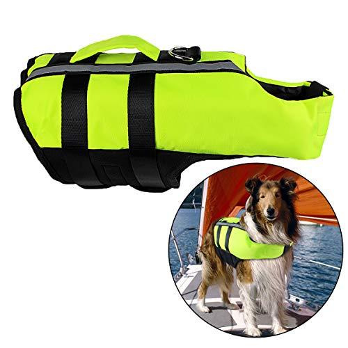 Neusky Pet Hundeschwimmweste (L, Blassgrün)