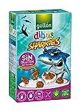 Galletas Dibus Sharkies Con Cacao Sin Gluten Gullón 250g
