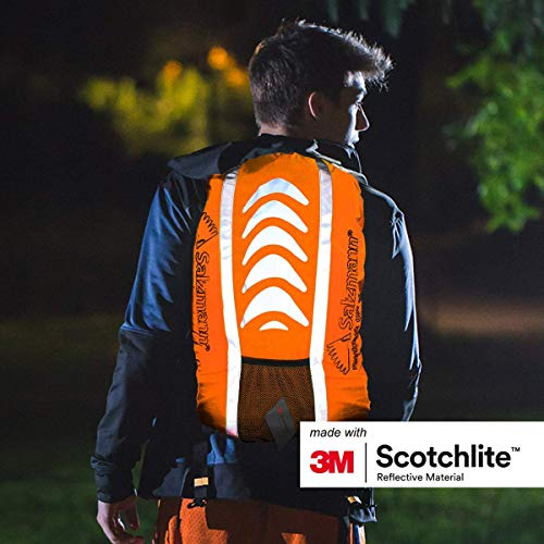 Salzmann 3M Reflective Rucksack Cover | High Visibility, Waterproof, Weatherproof | Made with 3M Scotchlite