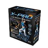 X-PAD Basic Dance Pad - Alfombrilla de baile con USB, edición PlayDance (PC+MAC), juego de baile y canciones incluidas, fácil ampliación con tus canciones favoritas