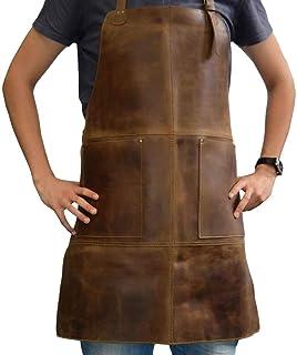 Hide & Drink, Durable Leather Apron Utility Tool Pockets Adjustable Chef Butcher Metalworker Carpenter Blacksmith Heavy Du...
