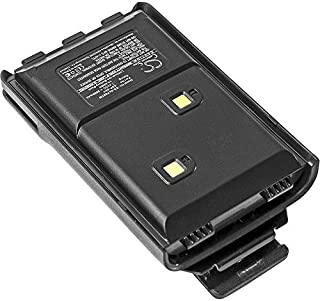 GAXI Battery Replacement for ALINCO DJ-10 Compatible with ALINCO DJ-100, DJ-289G, DJ-500, DJ-A10, Two-Way Radio Battery