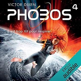 Page de couverture de Phobos. Il est trop tôt pour respirer