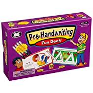 Super Duper Publications | Pre-Handwriting Fun Deck | Fine Motor Activities Flash Cards | Educational Learning Materials for Children