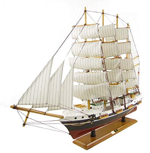 osters muschel-sammler-shop Schiffsmodell Passat - Maße B70/H55/T14 / Segelschiff/Modellschiff/Standmodell/Modellsegelschiff