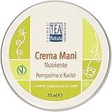 TEA NATURA - Crema de manos nutritiva Pomelo y karité - Elasticizante - Refuerzo - No graso - Vegano - 70 ml