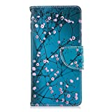 Nokia 3.1 Case, Shockproof PU Leather Flip Wallet Case with
