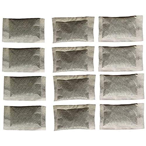 12 Pack of Distiller Filters - Activated Charcoal - Odor Absorbing. Works Great for Megahome and other Countertop Distillers