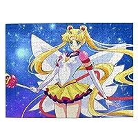 セーラームーン アニメパズルセット子供用パズル環境保護デコレーション500(Psc)38 Cm * 52 Cm