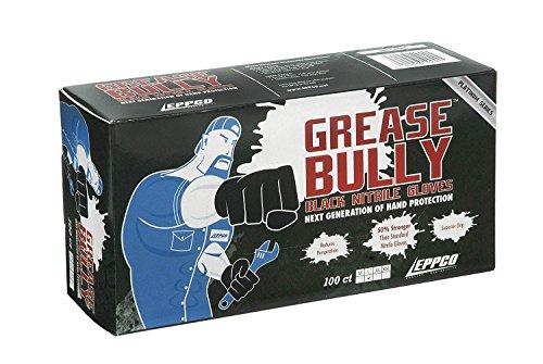 GREASE BULLY 6 mil Black Nitrile Gloves