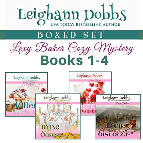 Lexy Baker Cozy Mystery Series Boxed Set Vol 1 audiobook cover art