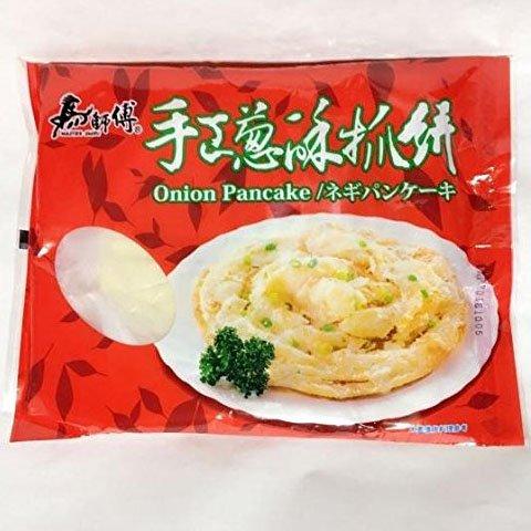 葱酥抓餅 ネギパンケーキ 5枚入 台湾名物 冷凍食品