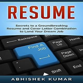 Resume audiobook cover art