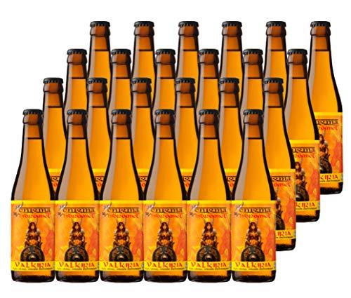 Cervezas Enigma - Hidromiel Valkiria - 24 botellas x 0,33 L