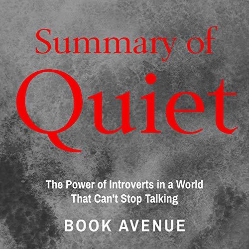 Summary of Quiet audiobook cover art