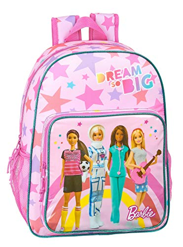 Safta 612010180 Mochila Grande Adaptable a Carro Barbie