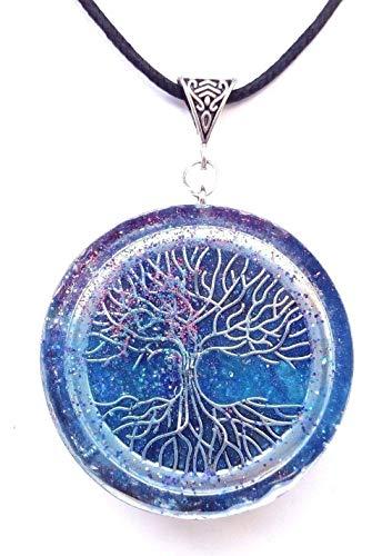 Halskette Orgon; Orgonit; Halskette; Blume des Lebens Anhänger Anhänger. Reiki, Meditation, Neues Zeitalter