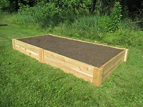 Infinite Cedar Raised Bed Garden Kit 4'x8'x11