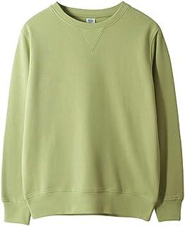 chouyatou Men's Active Heavy Blend Cotton Crewneck Pullover Sweatshirt Tops