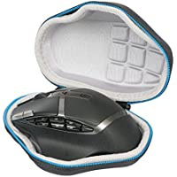 Markstore EVA Bolsa Resistente a Prueba de Golpes para Logitech G602 - Ratón Gaming inalámbrico USB, Negro