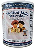 Class malt flavor for ice cream malts and baking Manufactured in Wisconsin by CTLFoods Made of 100% all natural ingredients Relive the old fashioned days of the soda fountain 2.5 pound canister with lid.