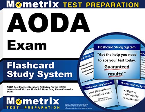 Aoda Exam Flashcard Study System Aoda Test Practice Questions Review For The Ic Rc International Written Alcohol