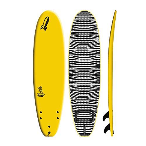 Rock It 7' Shortbus Soft Top Tabla de Surf Amarillo