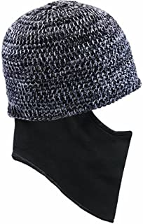 Seirus Innovation Dissolve Hat - Quick Clava Beanie with Built-in Pull Down Mask for Added Face and Neck Protection - TOP ...
