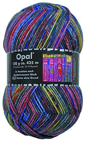 Opal Sockenwolle Hundertwasser III - Garten ohne Grund 467