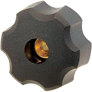 Pack of 10 AN4C----4P4B-21 Innovative Components AN4C-4P4B-21 1.75 4 Prong knob blind 1//4-20 steel zinc insert black pp