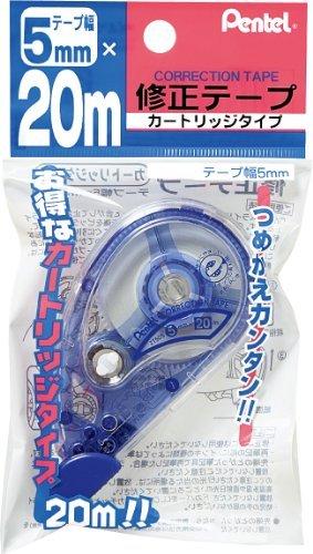 ぺんてる 20m修正テープ 5mm XZT505W 00051066 【まとめ買い5個セット】