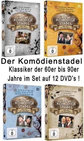 Der Komödienstadel - Klassiker der 60er Jahre - 90er Jahre - Set (12DVDs)