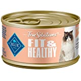 Blue Buffalo True Solutions Fit & Healthy Natural Weight Control Adult Wet Cat Food, Chicken 3-oz cans (Pack of 24)