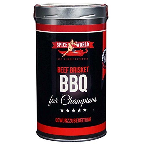 Spiceworld Barbecue for Champions Beef BRISKET Rub Gewürz Grillgewürz Gewürzmischung Grillen (1333ml)