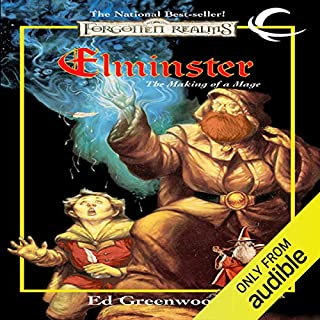 Elminster: The Making of a Mage cover art