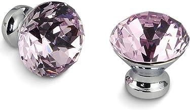 30mm Keukenkast Handvatten Diamant Vorm Ontwerp Kristal Glas Knoppen Kast Trekt Lade Knoppen Meubels Handvat Hardware