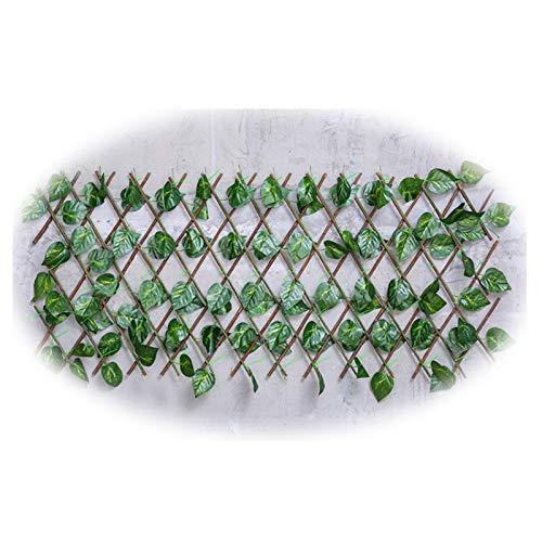 JIANFEI-Valla de jardín Valla Decorativa PE Plantas Interior Pared Cuadrícula Decoración Cerca, Bambú Al Aire Libre Patio Intimidad Proteccion Pantalla, 4 Estilos (Color : C, Size : 250X20CM)