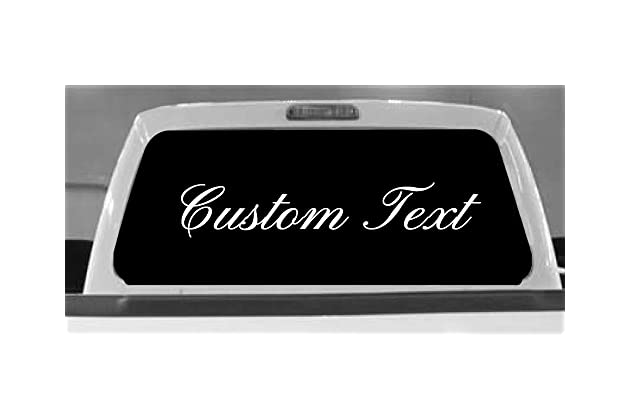 Truck Stickers For Back Window >> Best Back Glass Stickers For Trucks Amazon Com