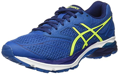Asics Gel-Pulse 8, Zapatillas de Running para Hombre, Azul (thunder blue/safety yellow/indigo blue), 43.5 EU (8.5 UK)