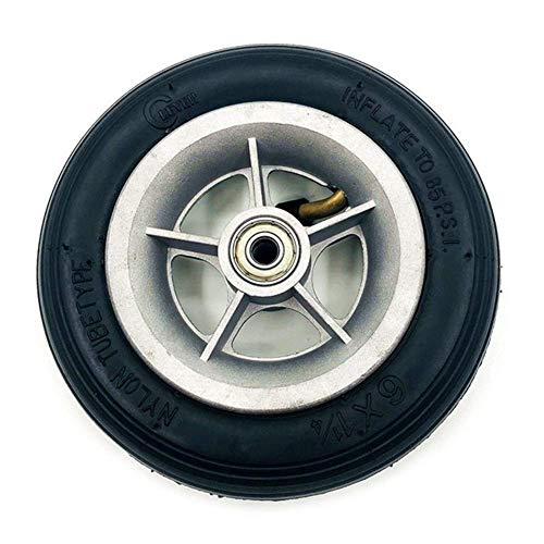 Neumático de Scooter eléctrico Compatible con Tubo de 6x1 / 1/4 Ruedas 150 mm Neumático de 6 Pulgadas Neumático de Rueda de Scooter eléctrico - Juego de neumáticos y Tubo Interior