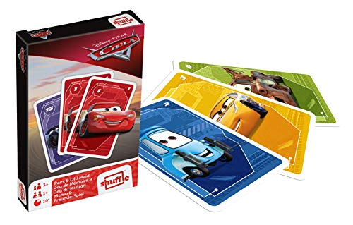 Cartamundi - Juego de Cartas de Disney Cars y Old Maid
