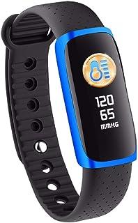 OPAKY Pulsera de Actividad Reloj Inteligente con Pulsómetro Smart Watch Deportes Fitness Actividad Monitor de Ritmo Cardíaco Presión Arterial Calorías Relojes Deportivos