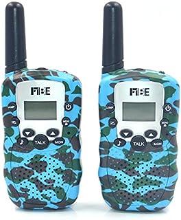 Walkie-Talkie voor kinderen, kleur camouflage, 8 kanalen, PMR446 zaklamp, VOX, walkie-talkie speelgoed, voor kamperen, wan...