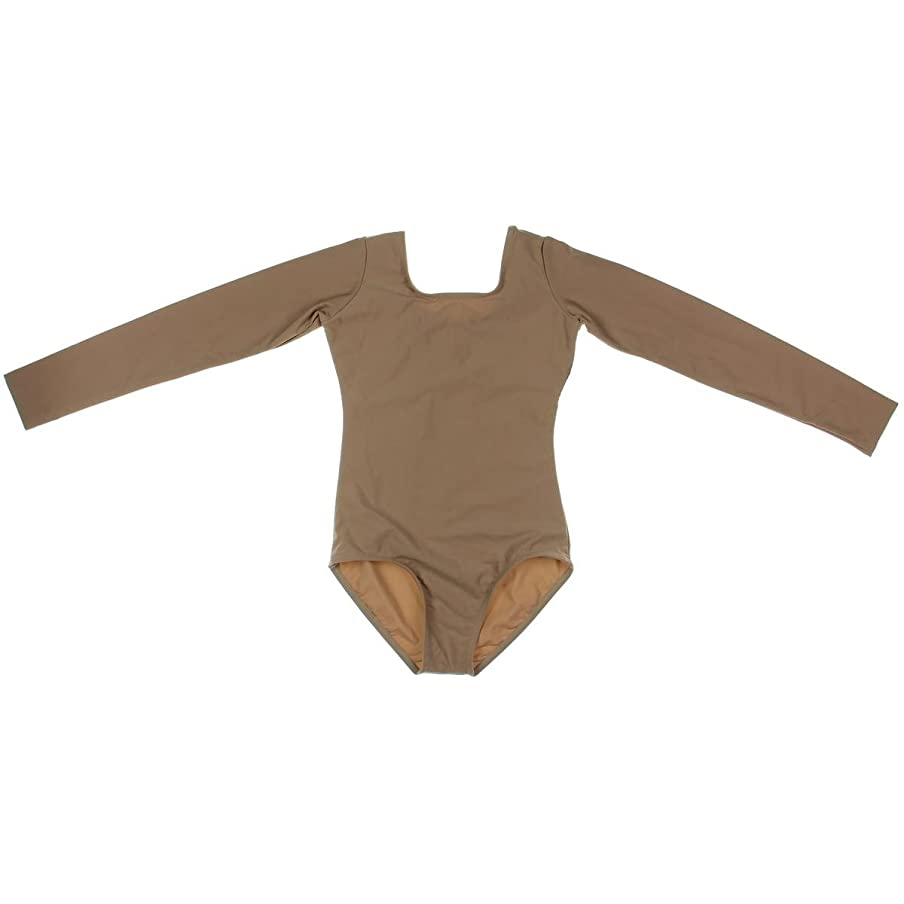 Child Long Sleeve Dance Leotard D5103C