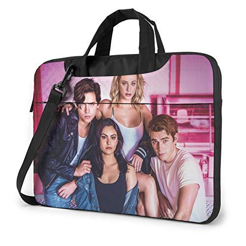 Ri-Ver-Dale Shockproof Laptop Shoulder Bag Messenger Bag Case Sleeve For 13/14/15.6 Inch Laptop Notebook