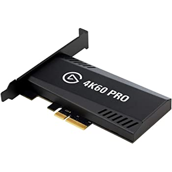 Elgato 4K60 Pro MK.2 PCIe Capture Card4K60 HDR10 capture, zero-lag passthrough, ultra-low latency, PS5, PS4 Pro, Xbox Series X/S, Xbox One X, high refresh rate capture