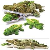 Prextex Plushlings Plush Crocodile with 3 Little...