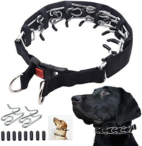 Mayerzon Dog Prong Training Collar Dog Choke Pinch Collar with Comfort Tips and Quick Release product image