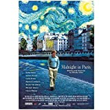 Qqwer Midnight In Paris Movie Poster Wall Art Pictures